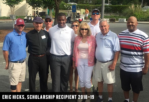 Eric Hicks, Scholarship Recipient 2018-19