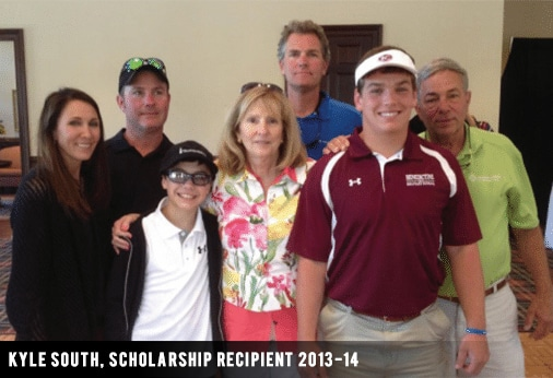 Kyle South, Scholarship Recipient 2013-14